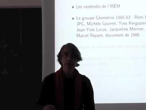 Jean-Pierre ESCOFIER - «Jos Pennec et ses travaux à l'IREM de Rennes»