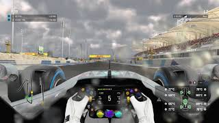 Bahrain Qualifying In The Wet