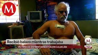 Victima de balacera en Culiacán; salió a trabajar y recibió una bala perdida
