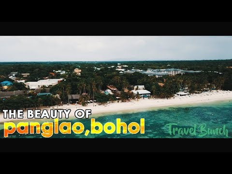 The Beauty of Panglao Island, Bohol, Philippines - Aerial/ Drone Shot