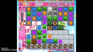 Candy Crush Level 496 help w/audio tips, hints, tricks