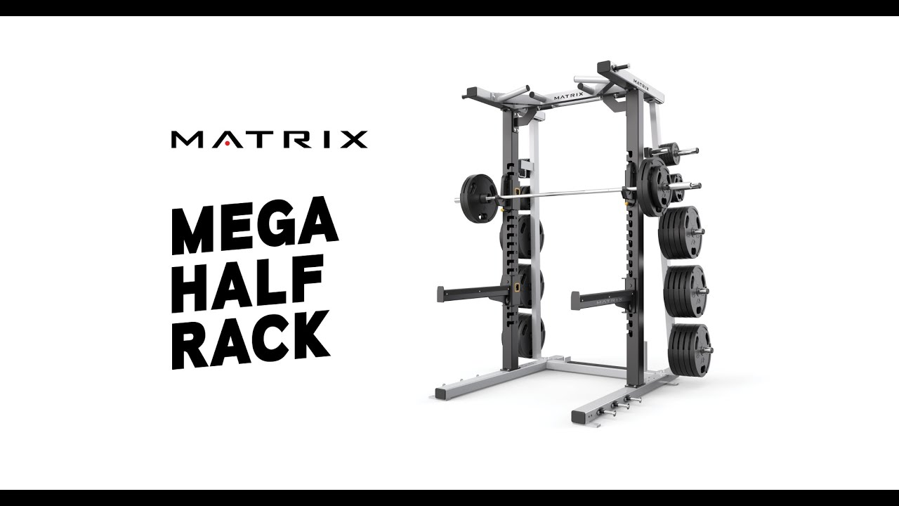 Garage Gym Half Rack Mega Half Rack