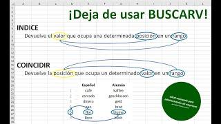 ¡Deja de usar BUSCARV! Funciones y fórmulas robustas para buscar y asociar datos en Excel