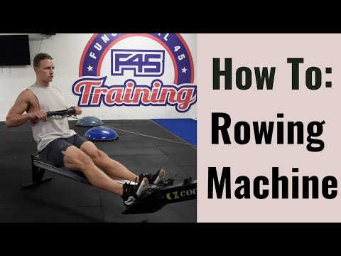 How To: Rowing Machine