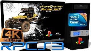 RPCS3 0.0.5 PS3 Emulator - MotorStorm: Pacific Rift (4K UpScale) LLVM Vulkan #3