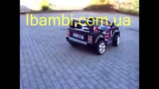 Видео обзор детского  электромобиля JJ 205 ibambi com ua(Детский электромобиль Джип JJ 205 R на пульте управления - самый большой джип из серии 12V. Большой, комфортабе..., 2015-02-19T07:39:43.000Z)