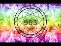963 Hz- God Tone - Merkaba - Chakra - God Ability- Deep Sleep- Kundalini  - Open Pineal Gland