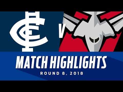 Match Highlights: Carlton v Essendon | Round 8, 2018 | AFL