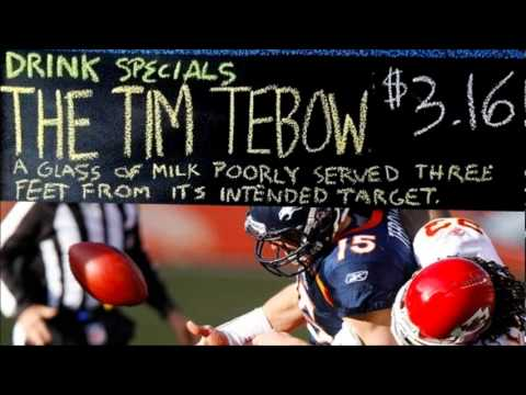 Funny Tebow and the 2011 Denver Broncos Commercial