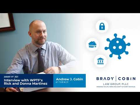 Andrew J. Cobin Interview with WPTF's Rick and Donna Martinez January 14, 2021