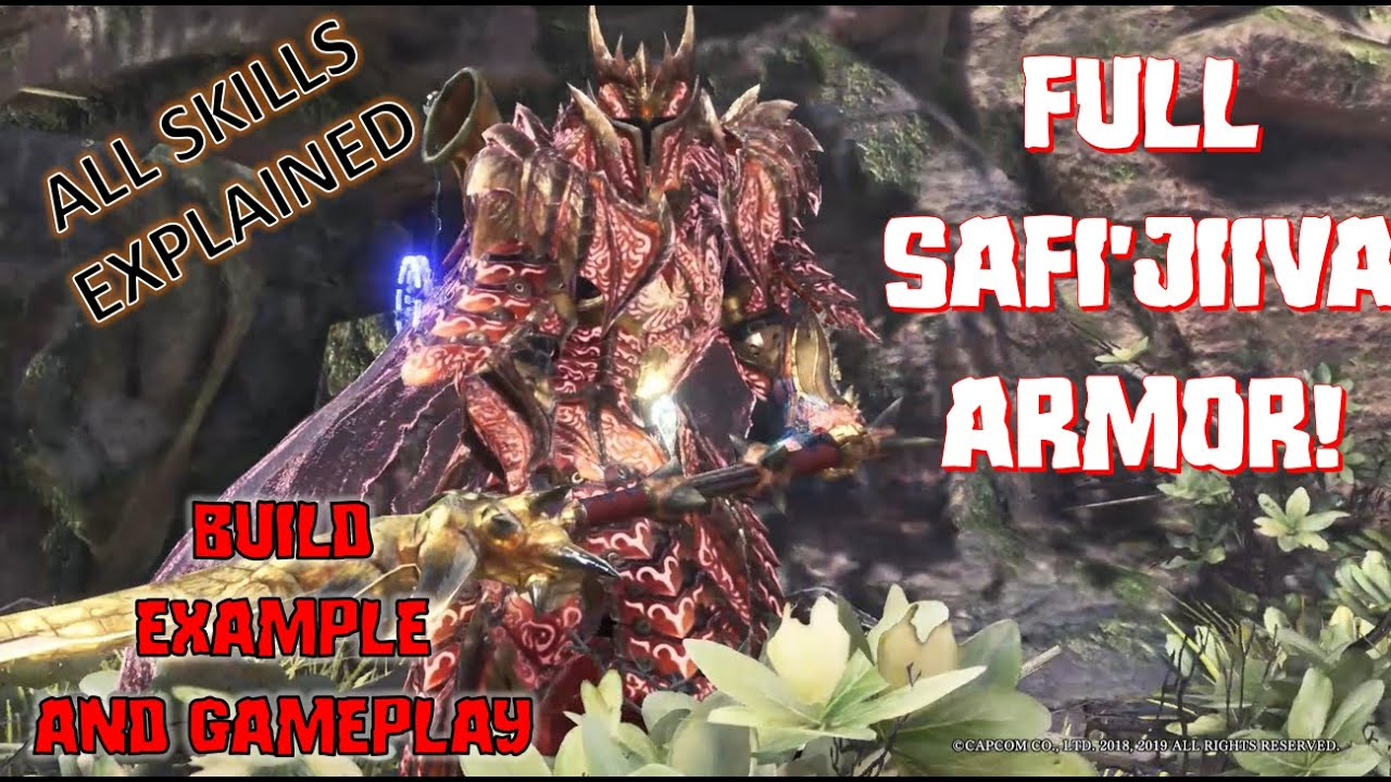 Safi Jiiva Full Armor Review Skill Overview And Set Example