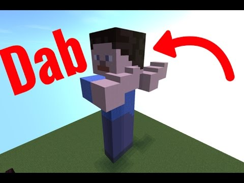 Dab In Minecraft You Comment I Build 5 Youtube