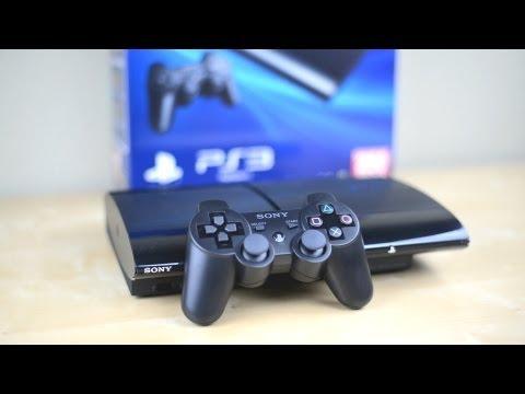 Unboxing: Super Slim PS3 - PlayStation 3 2012 250GB