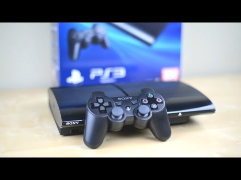 Unboxing: Super Slim PS3 - PlayStation 3 2012 250GB