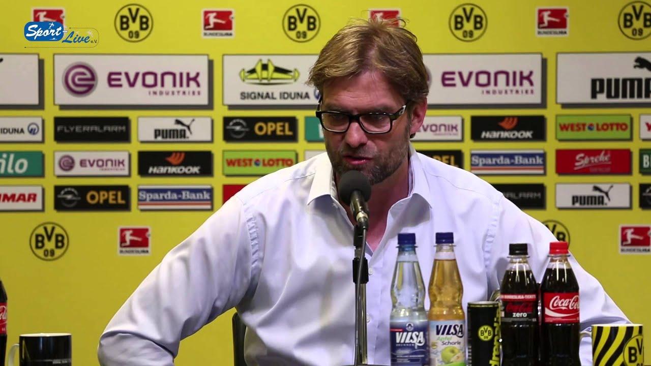 BVB Pressekonferenz vom 18. April 2013 vor dem Spiel Borussia Dortmund gegen FSV Mainz 05