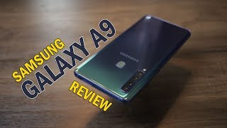Samsung Galaxy A9 review - quad camera, PUBG Gameplay, is it worth the price?