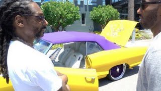 Snoop Dogg Gives Kobe Bryant His Lakers 64' Chevy Implala As A Retirement Gift