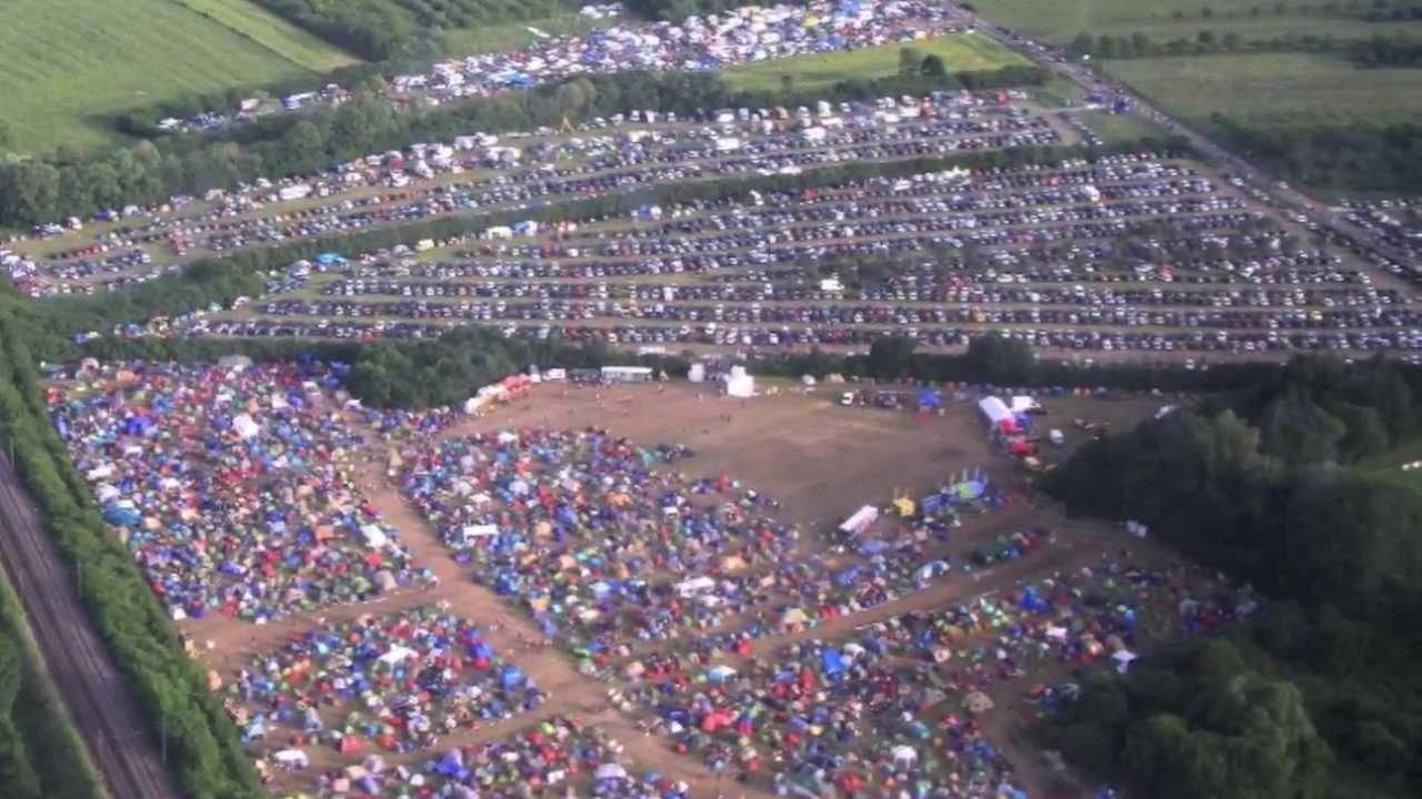 report au fond du camping du j d m festival 2012 jardin