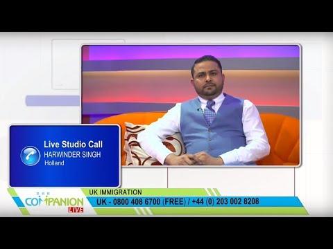 Law Lane Solicitors Ghulam Mustafa on Zee Companion Live