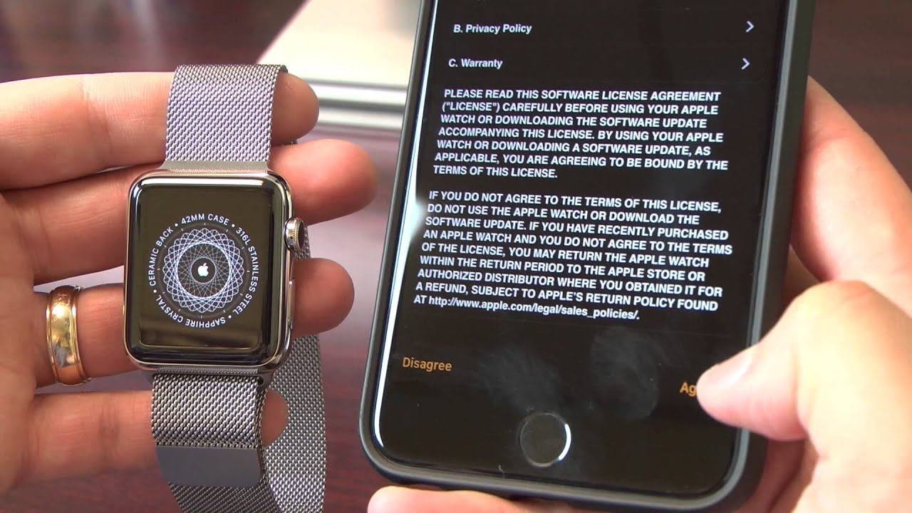 release date: 7edfe 982d8 How to pair your new Apple Watch with your iPhone
