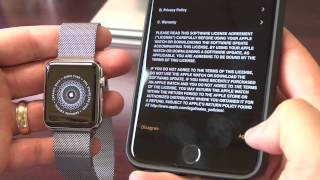 How to pair your new Apple Watch with your iPhone