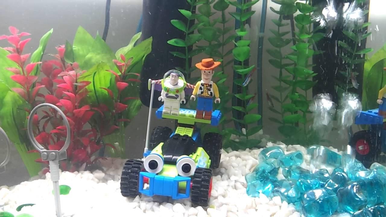 Lego Harry potter and Toystory fish tank/ aquarium theme   YouTube
