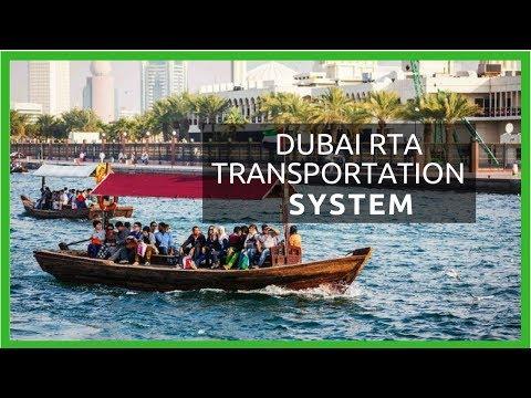 Dubai Transportation System - ABRA Dubai UAE