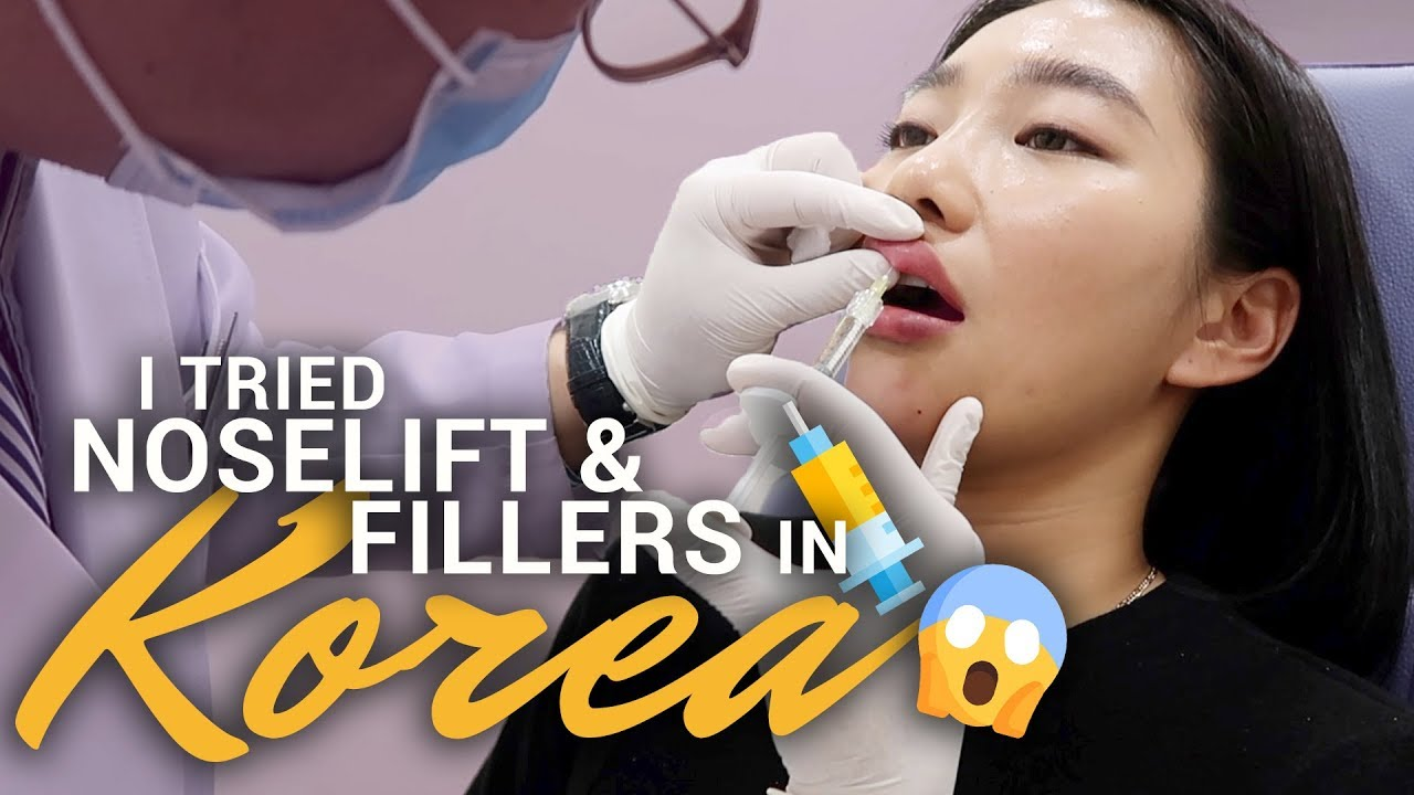 I TRIED NON-SURGICAL NOSELIFT & FILLERS for the FIRST TIME in KOREA! |  Raiza Contawi