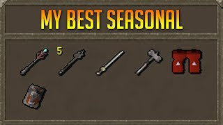 One Of The Richest Players In Seasonal Deadman (OSRS)