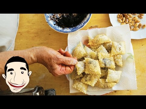 ITALIAN GRANDMA DEEP FRIED RAVIOLI | Nonna Igea Recipe | Italian Fried Cookies