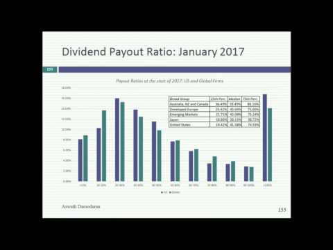 Session 22: The Dividend Trade off - Good and Bad Reasons for Paying Dividends