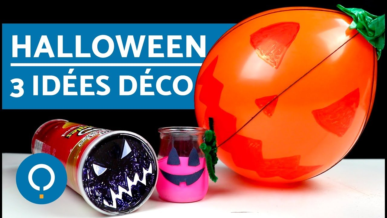 3 id es d co halloween faire soi m me youtube - Halloween decoration a faire soi meme ...
