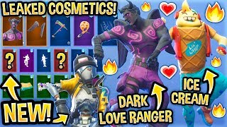 *NEW* All Leaked Fortnite Skins & Emotes..! *VALENTINE* (Dark Love Ranger, Daydream, Lil Whip...)