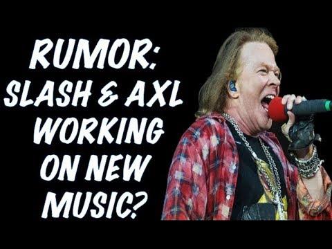 Guns N' Roses News: Axl & Slash Working On New Songs & Matt Sorum Writing a Book?