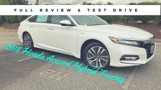 2018 Honda Accord Hybrid Touring Full Review & Test Drive