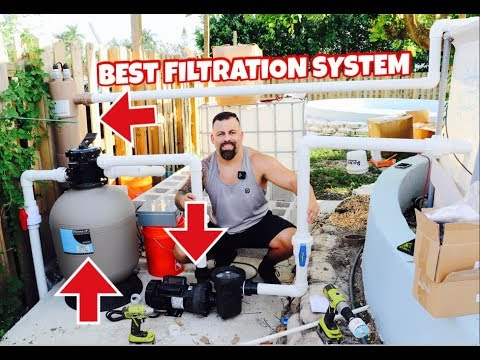 BEST *POOL POND* FILTRATION SYSTEM FOR MONSTER FISH