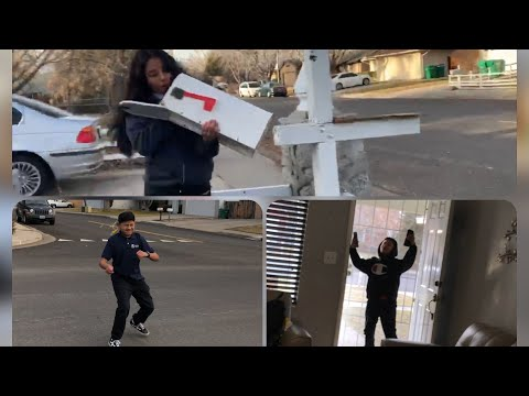 So I Think We Broke Her Mail Box