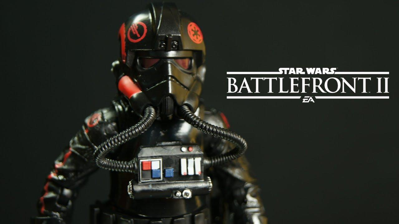 "Star Wars Black Series 6/""Battlefront 2 II INFERNO SQUAD AGENT Gamestop Exclusive"