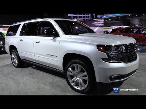 2017 Chevrolet Suburban Premier - Exterior and Interior Walkaround - 2016 LA Auto Show