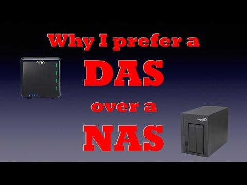 Why I prefer a DAS over a NAS