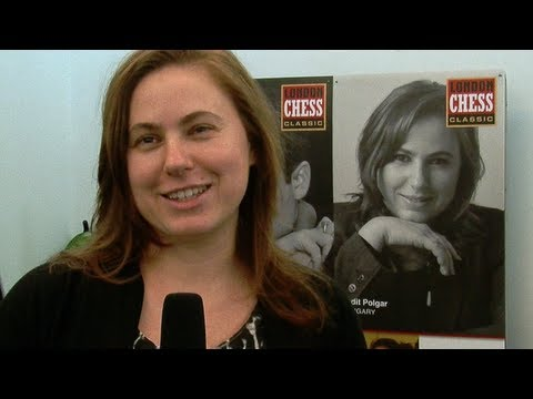 Judit Polgar on London 2012 and volume 2 of her book