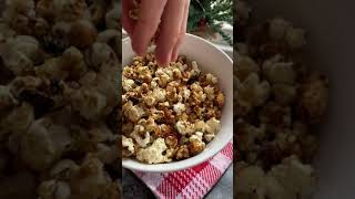 You won't believe how easy this caramelized popcorn is! #shorts