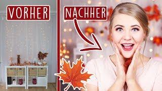 DIY NEUER HINTERGRUND - Herbst Edition! 🍁 #FALLinLOVE