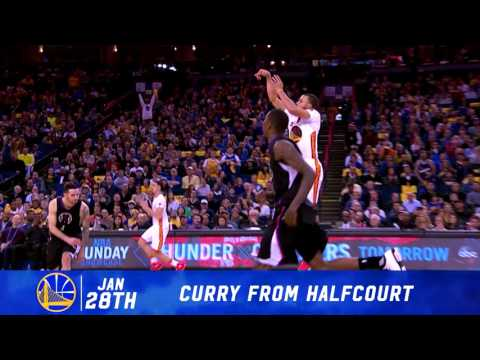 2016-17 Dubs Top Moments: Curry