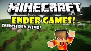 Durch den Wind! - Minecraft ENDER GAMES | Stunter