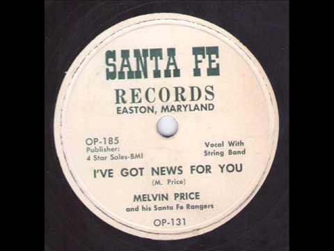 Melvin Price and his Santa Fe Rangers  I've Got News For You SANTA FE OP-131