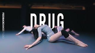 LEEBADA 이바다 - DRUG | YELLZ Choreography