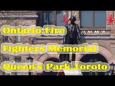Ontario Fire Fighters Memorial,Queen