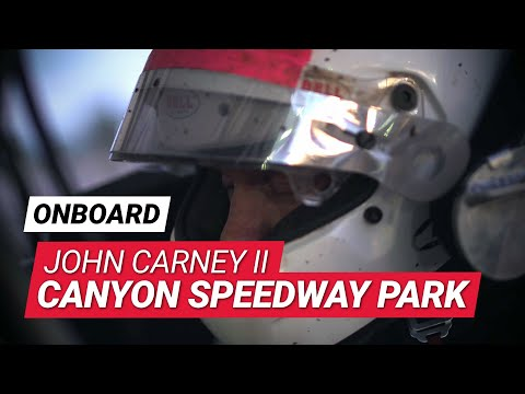 OnBoard Highlights with John Carney II at Canyon Speedway Park - ASCS Sprint Cars