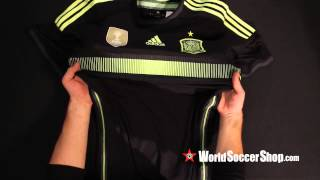 adidas Spain 2014 Authentic Away Jersey - Unboxing